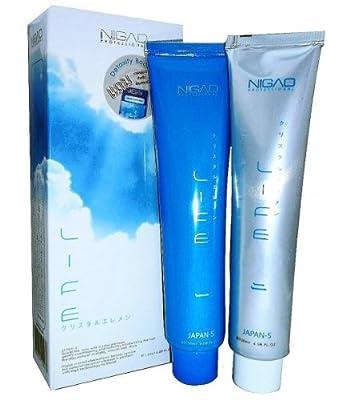 Nigao Japanese IDA Cyrstal System Hair Straightening Cream