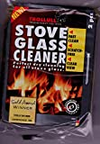 TROLLULL WOODBURNER STOVE GLASS CLEANING PADS