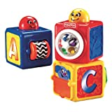 Fisher-Price Brilliant Basics Stacking Action Blocksby Fisher-Price