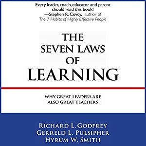 The Seven Laws of Learning Hörbuch