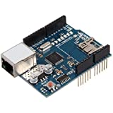 RioRand (TM) Upgraded Ethernet Shield W5100 for Arduino UNO R3 & MEGA 2560 Duemilanove
