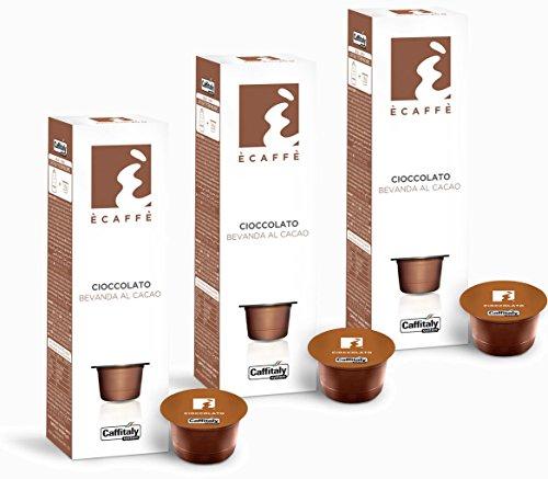 Choose 30 Ècaffè Cocoa Capsules CIOCCOLATO Bevanda al Cacao - Caffitaly System