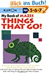 My Book of Mazes: Things That Go: Age...