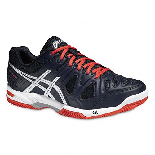 Asics  Gel Game 5 Clay,  Scarpe da tennis Uomo, Blu (Bleu (Sky Captain/White/Orange)), 42 1/2