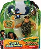 "Fisher-Price The Croods Hero 2-Pack - Thunk and Punch Monkey is a 2.75"" figure of your favorite Croods Character is paired with an awesome creature right from the movie."
