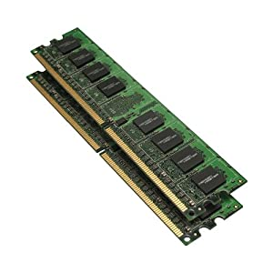 Memory Master 2 GB (2 x 1 GB) DDR2 667MHz PC2-5300 Notebook SODIMM Memory Modules (MMN2048KD2-667)
