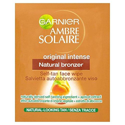 Ambre Solaire Garnier Lingettes Pour Le Visage Auto- Bronzante Bronzage D'Origine Naturelle (2)