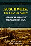 img - for Auschwitz - The Case for Sanity: A Historical and Technical Study of Jean-Claude Pressac's