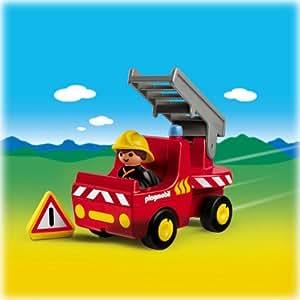 Playmobil - 6716 - Jeu de construction - Pompier / camion