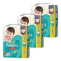 【ケース販売】 パンパース おむつ Mサイズ (6~10kg) さらさらパンツ 222枚(74枚×3パック)