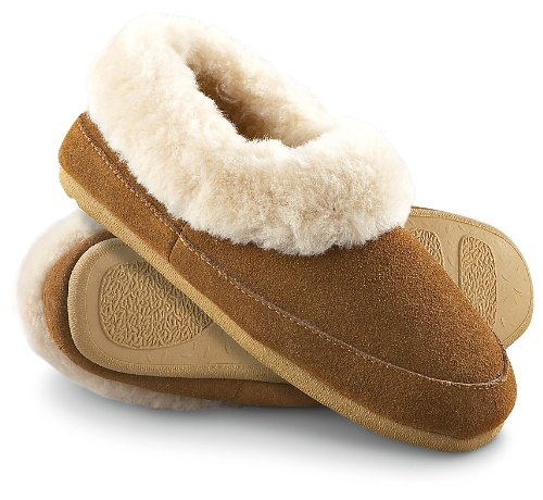 Cheap Men's Staheekum Gold Roll – top Slippers Wheat (B001LMP038)