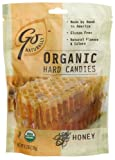 GoNaturally Organic Honey Gluten Free Hard Candies, 3.5-Ounce Bags (Pack of 6)
