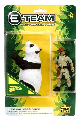 Wild Republic E-Team Blister Panda