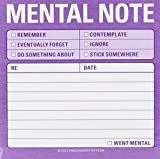 Knock Knock Sticky Mental Notes (Sticky Note)