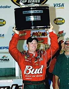 Dale Earnhardt Jr. Signed Picture - DAYTONA 500 TROPHY 11X14 COA - Autographed NASCAR... by Sports Memorabilia