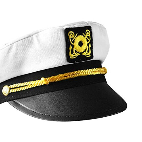 Child's Yacht Sailor Captain Costume Hat