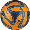 Adidas Brazuca Glider Ball Orange�E�@�T�b�J�[�{�[���@�u���Y�[�J�@�O���C�_�[�@�I�����W