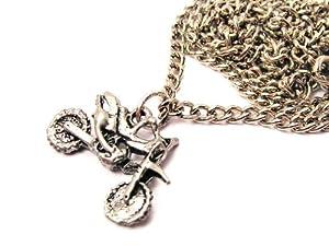 dirt bike motocross 18 quot fashion necklace