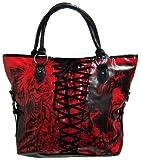 Iron Fist Red American Nightmare Vegan Handbag