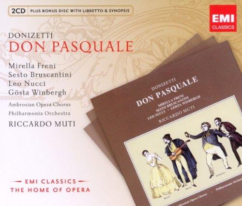 Don Pasquale (Mutti,Freni,Nucci) - Donizetti - 2CD