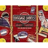 Golden Age of Transport Luggage Labels: 20 Vintage Luggage Label Stickers (Travel Stickers)