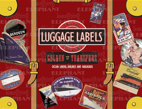 Golden Age of Transport Luggage Labels: 20 Vintage