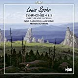 Spohr: Symphonies Nos 4 & 5 [Howard Griffiths, NDR Philharmonic Hannover] [CPO: 777745-2]