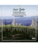 Spohr : Symphonies n° 4 & 5. Griffiths.