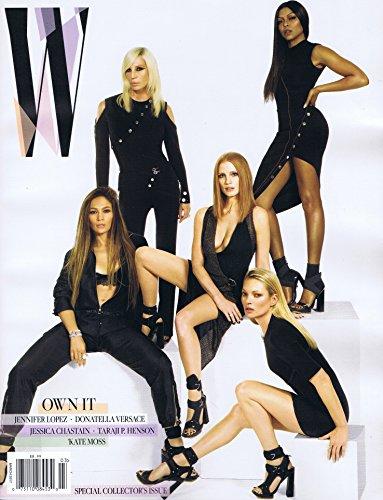 W Magazine March 2017 大きい表紙画像