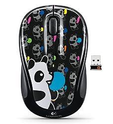 Logitech Wireless Mouse M235 Panda Candy AP