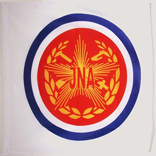 BANDIERA YOUGOSLAVIE ARMÉE POPULAIRE JNA 90x90cm - BANDIERA DELLA JUGOSLAVIA 90 x 90 cm foro per asta - AZ FLAG