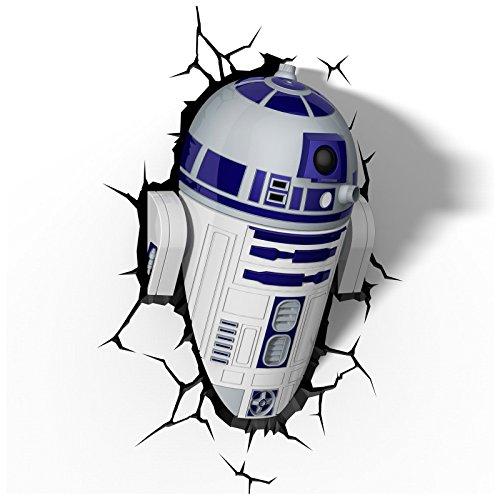 3D Light FX Star Wars R2-D2 3D Deco LED Wall Light