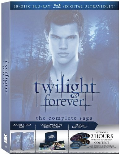 Twilight Forever: The Complete Saga (Twilight / New Moon / Eclipse / Breaking Dawn Part 1 / Breaking Dawn Part 2) [Blu-ray]