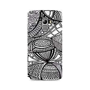 Motivatebox- Doodle Abstract Premium Printed Case For Lenovo K4 Note -Matte Polycarbonate 3D Hard case Mobile Cell Phone Protective BACK CASE COVER. Hard Shockproof Scratch-
