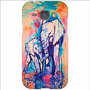 Samsung Galaxy J1 Back Cover - Splash Designer Cases