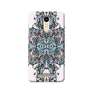 MIKZY Abstract Pattern Printed Designer Back Cover Case for Xiaomi Redmi Note 3 (MultiColour)
