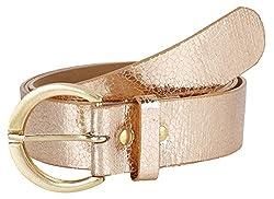 Jainsons Women's Belt (DTP_BELT_1052_1--32, Beige, 32)