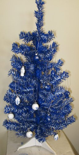 2' University of Kentucky Wildcats Artificial Christmas Tree at Amazon.com