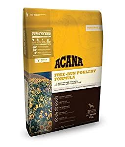 Acana Heritage Free Run Poultry Dog Food - 25 lbs