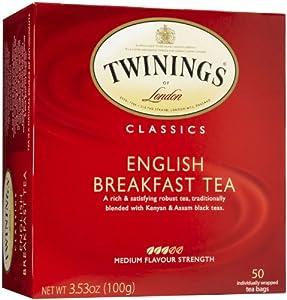 Twinings of London Classics English Breakfast Tea - 50 CT