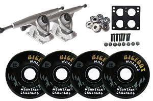 Randal 180mm LONGBOARD TRUCKS 76mm 83a BIGFOOT Wheels