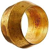 "EATON Weatherhead 60X5 Compression Sleeve, CA360 Brass, 5/16"" Tube OD, 0.4100"" OD"
