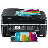 Epson WorkForce 600 Wireless All-in-One Printer (Black) (C11CA18201)