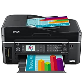 519qNsCy5FL. SL500 AA280  Epson WorkForce 600 Wireless All in One Printer   $159 Shipped