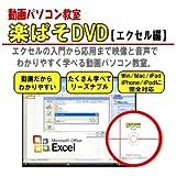 エクセル動画パソコン教室!楽ぱそDVD【エクセル編】
