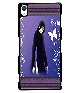 Fuson 2D Printed Girly Designer back case cover for Sony Xperia Z2 - D4143
