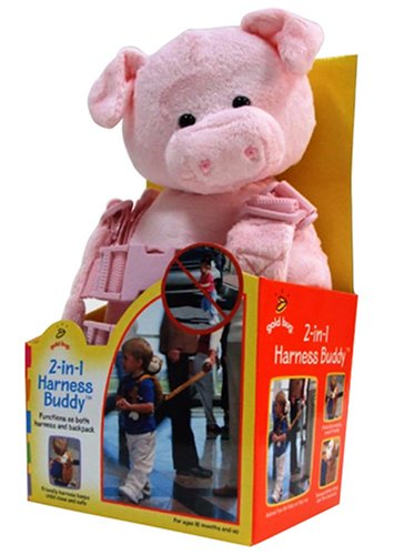 Discover Bargain Goldbug Animal 2 in 1 Harness, Pig