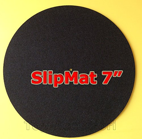 Slipmat - Tappetino per giradischi - per dischi 45 giri -