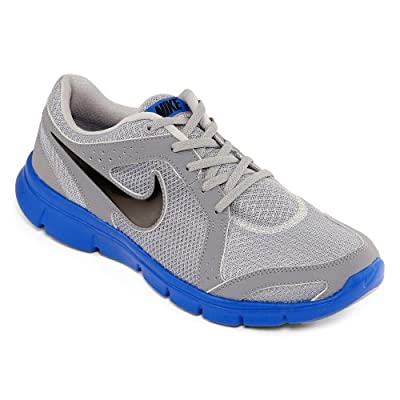86e7f9df067b Low Nike Men s NIKE FLEX EXPERIENCE RN 2 RUNNING SHOES 12 Men US (WOLF  GREY STEALTH PRIZE BLUE)