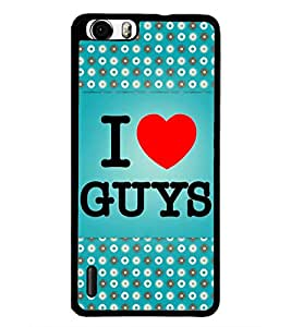 PrintDhaba Quote D-4345 Back Case Cover for HUAWEI HONOR 6 PLUS (Multi-Coloured)